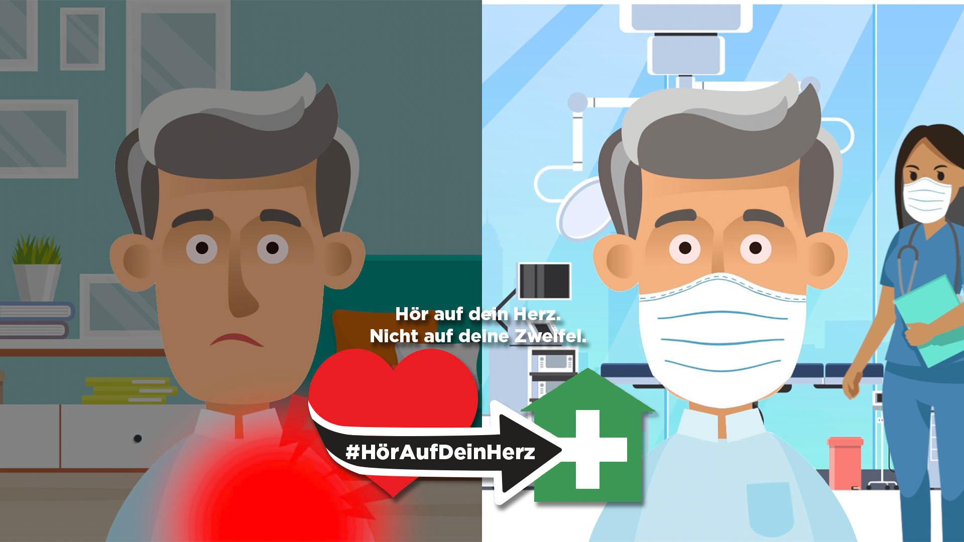 Internationale Kampagne mobilisiert HerzpatientInnen – #gehzumarzt